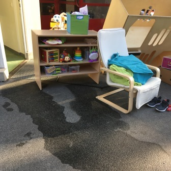 Wasserschaden bei den Zauberflöten